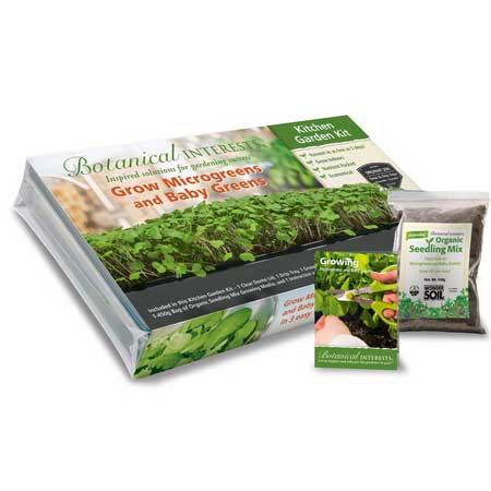 Botanical Interests Kitchen Garden Kit - National Garden Bureau