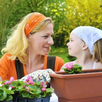 Children in the garden is a top reason to garden