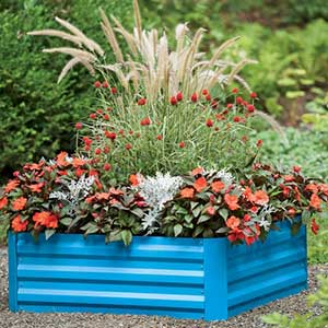 Demeter Corrugated Metal Raised Bed