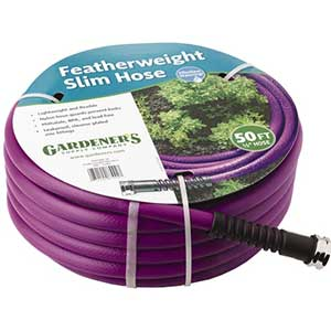 Gardeners Supply Featherweight Hose - National Garden Bureau