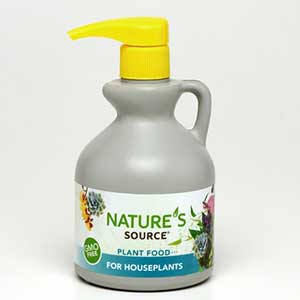 Nature's Source Plant Food 10-4-3 For Houseplants