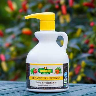 Bonnie Herb & Vegetable Organic 3-1-1 Plant Food