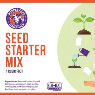 Purple Cow Organics® Seed Starter Mix