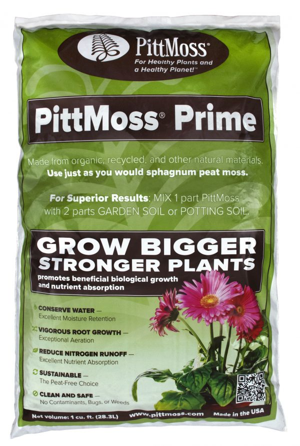PittMoss Prime – Organic Soil Amendment