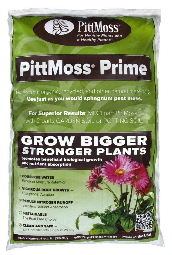 PittMoss Prime – Organic Soil Amendment