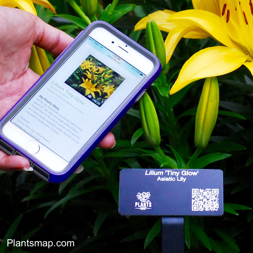 Plantsmap Interactive Plant Tags