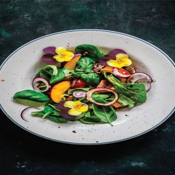 Pansies in Salad