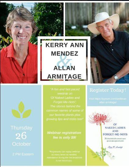 Allan Armitage Webinar - National Garden Bureau
