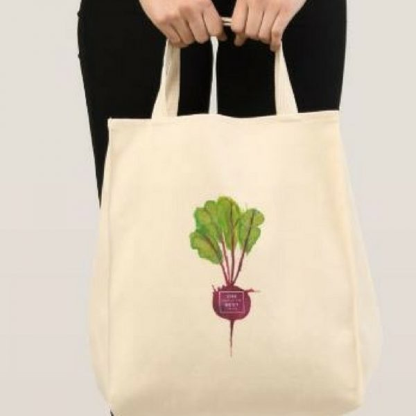 Year of the Beet Tote Bag from National Garden Bureau