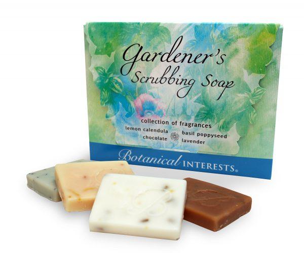 Gardener's Scrubbing Soap Gift Set