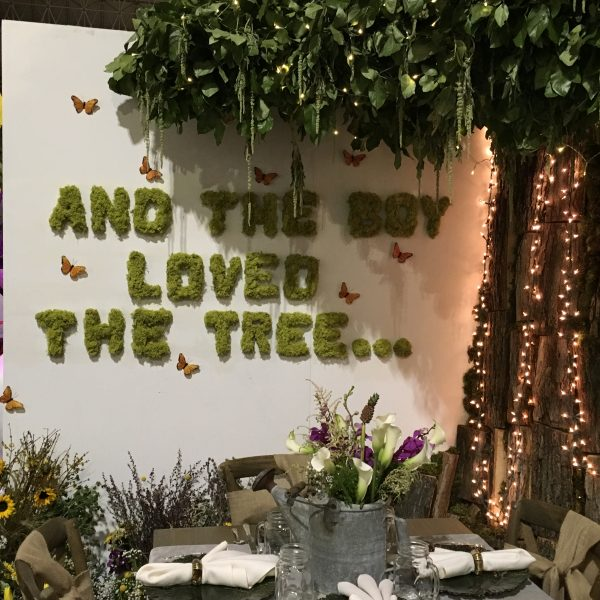 The Giving Tree display at the Chicago Flower & Garden Show - National Garden Bureau