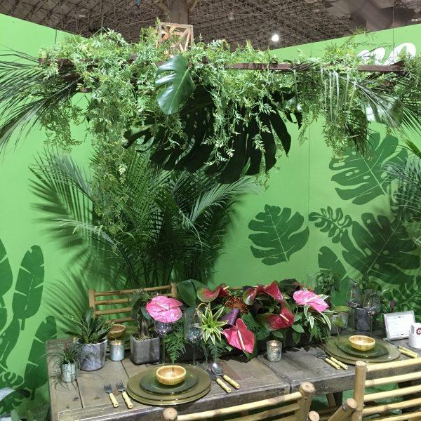 The Jungle Book display at Chicago Flower & Garden Show - National Garden Bureau