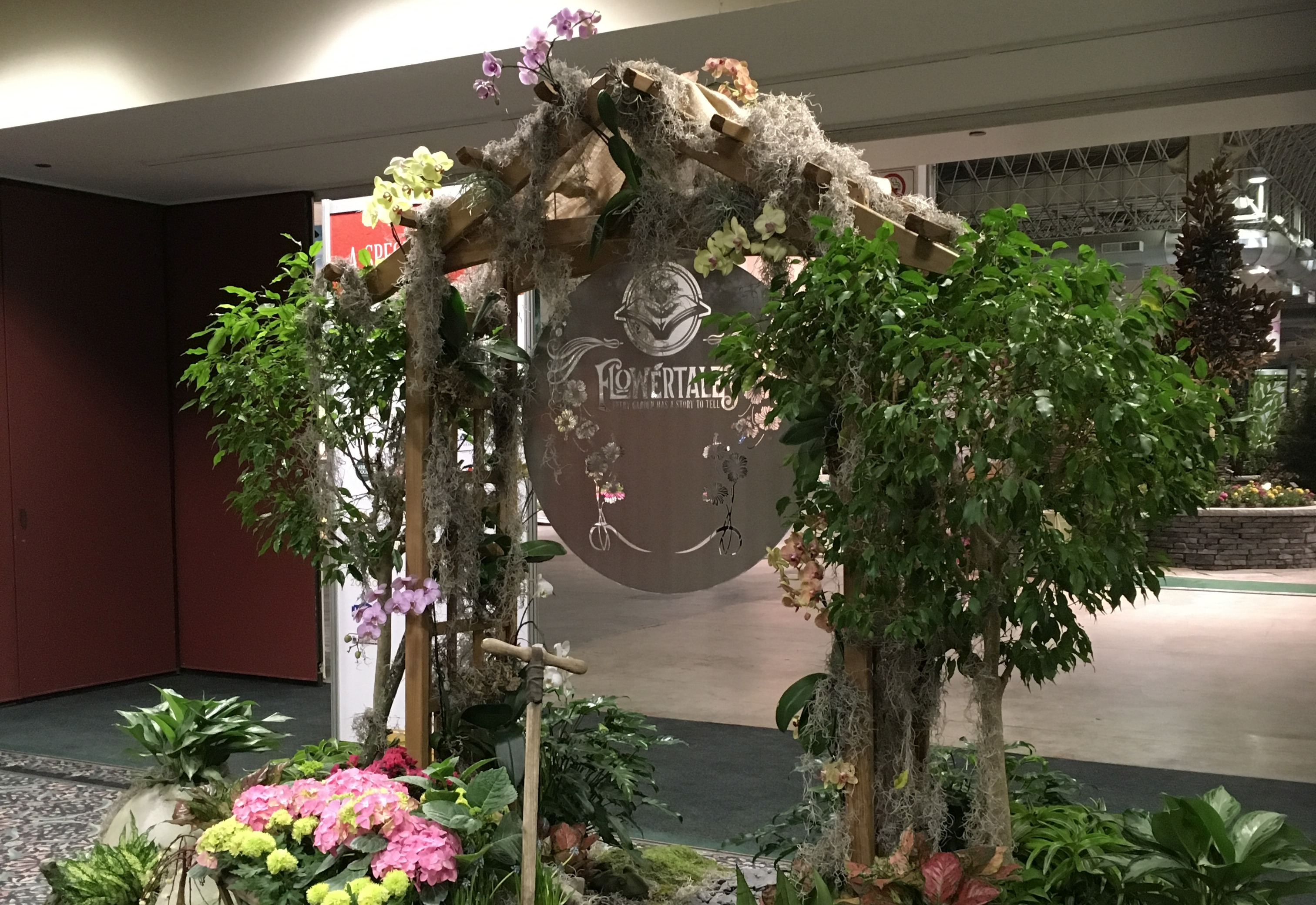 Books and gardens at the chicago flower garden show - Chicago flower and garden show 2017 ...