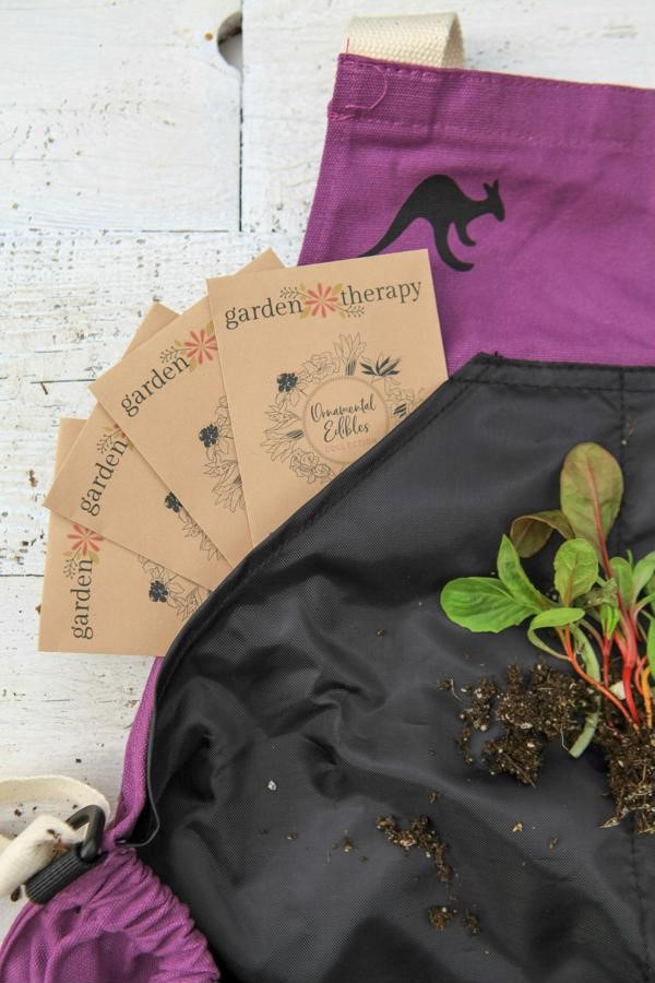 LIMITED EDITION Ornamental Edibles Seed Kit