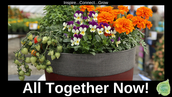 Vegetable, Herbs, and Flowers All Together Now! - National Garden Bureau