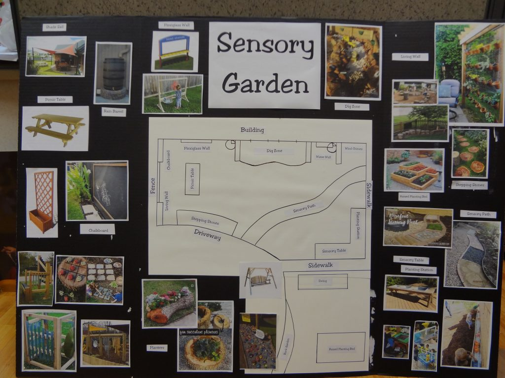 Kenny Rogers Children's Center Sensory Garden