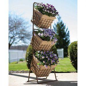 3 Tier Harvest Basket Planter - Jung Seed