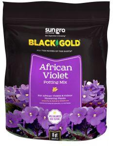 Black Gold African Violet Potting Soil