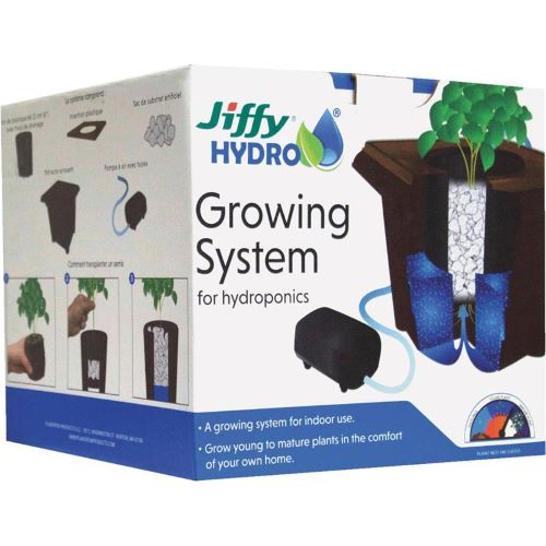 GardenTrends Jiffy Hydro Hydroponic Growing System - National Garden Bureau