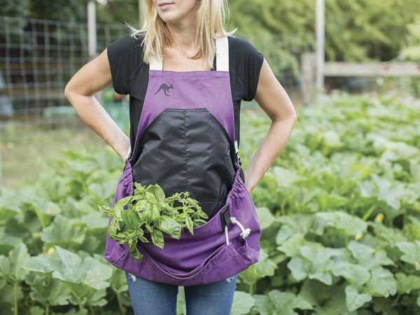 The Roo Apron® – Purple Orchid