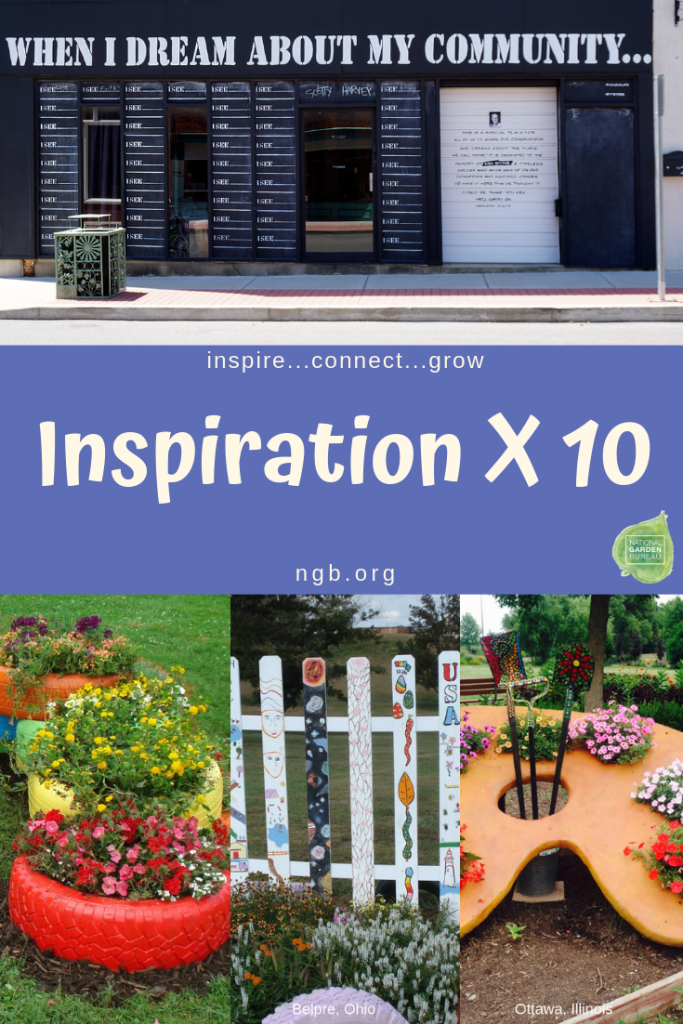 Inspiration X 10 with American In Bloom - National Garden Bureau
