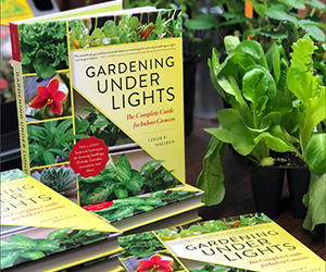 Gardening Under Lights - Leslie Halleck - National Garden Bureau