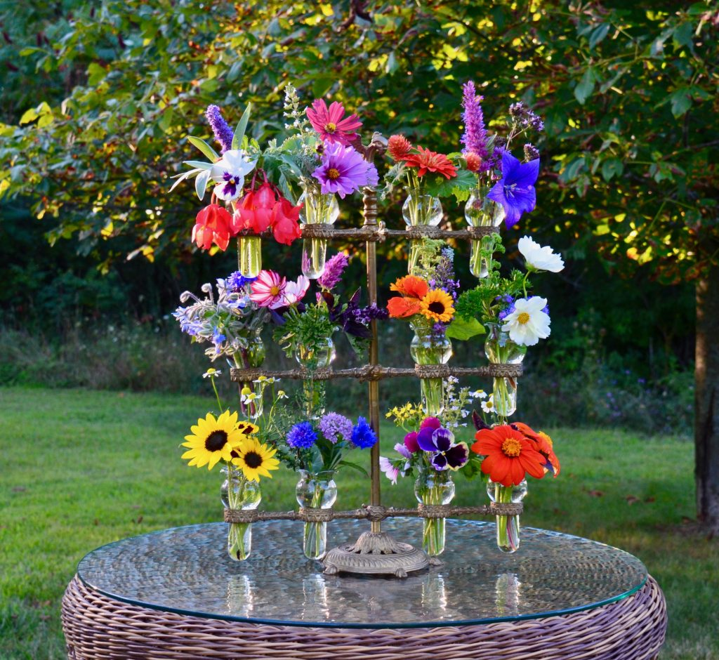 Flower Bouquet Game is a garden game from the 1930's - Kids, Gardens & Games - National Garden Bureau