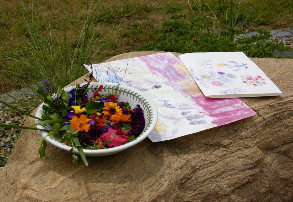 Flower Juice Painting - Kids, Gardens & Games - National Garden Bureau