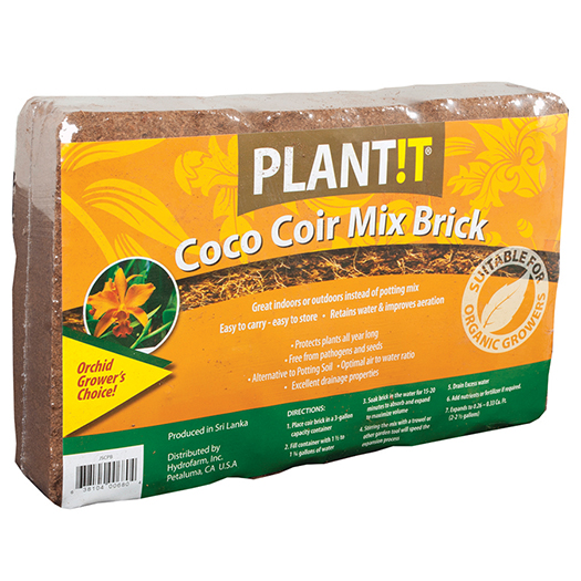 Coco Coir Mix Brick