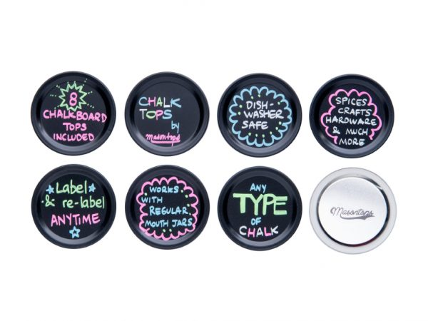Chalk Top Jar Lids