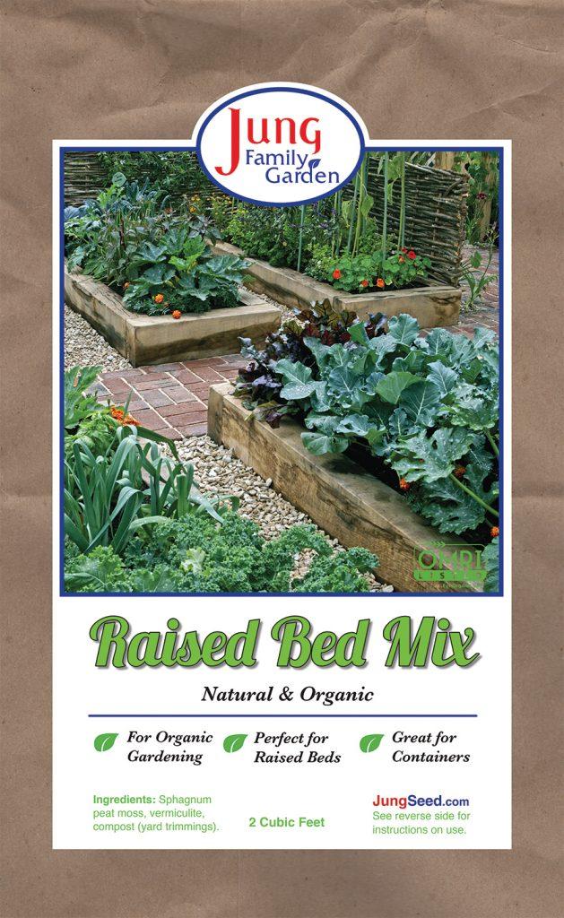 Jung Family Garden Raised Bed Mix - National Garden Bureau