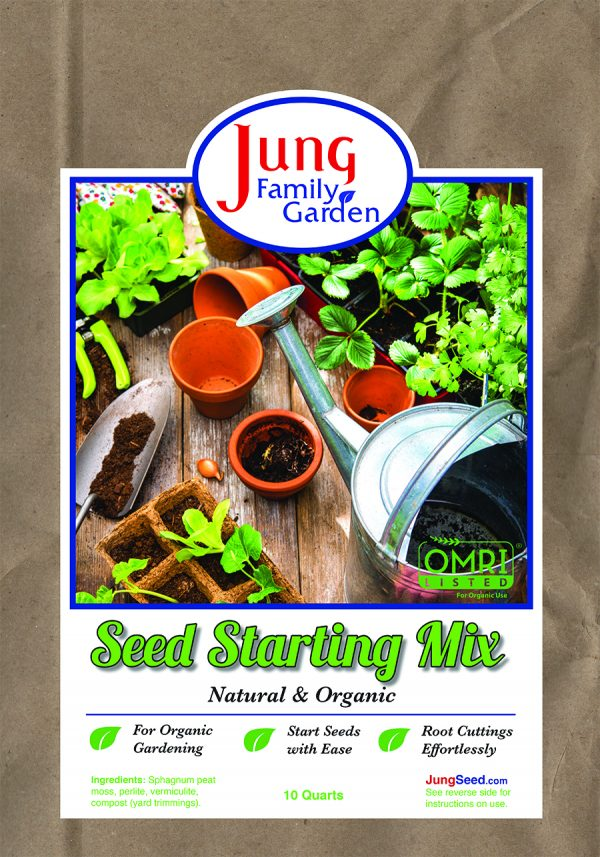 Jung Family Garden Seed Starter Mix