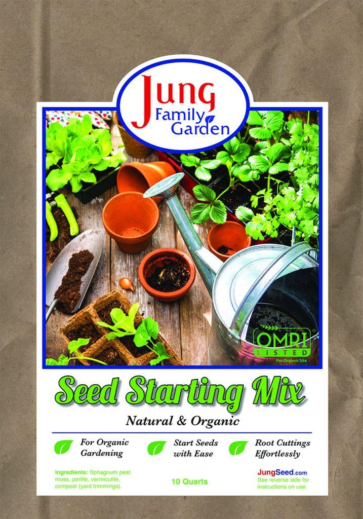 Jung Soilless Seed Starting Mix - National Garden Bureau