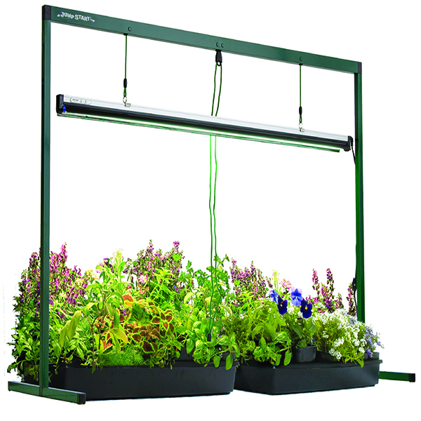 Totally Tomatoes Jump Start Grow Lights - National Garden Bureau Member