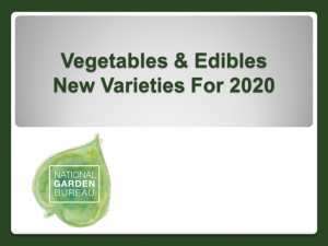 2020 NGB New Varieties - Vegetables and Edibles