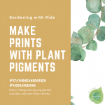 Make prints with leafs - National Garden Bureau