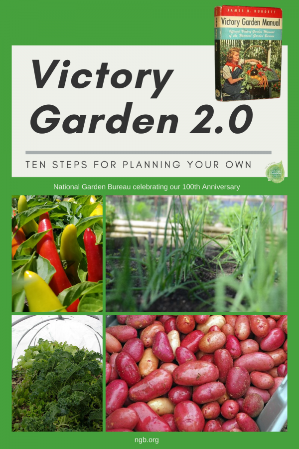 Victory Garden 2.0 - 10 steps for plan your own! - National Garden Bureau