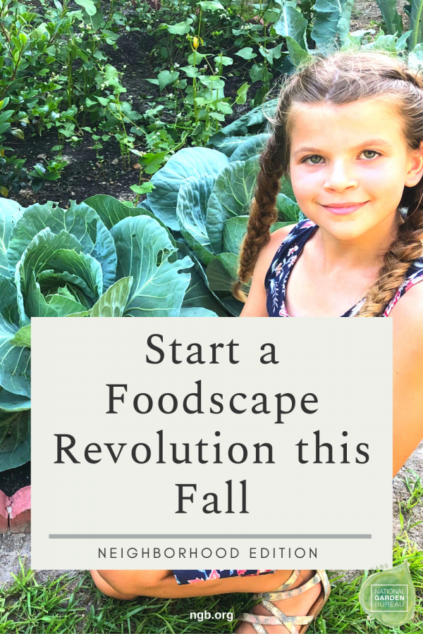 Start a Foodscape Revolution this Fall in your Neighbor - National Garden Bureau