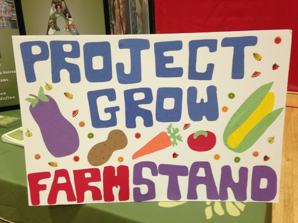Project Grow Farmstand - Allies Inc Therapeutic Garden