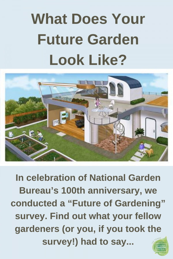 What Does Your Future Garden Look Like? A National Garden Bureau survey that answers those questions