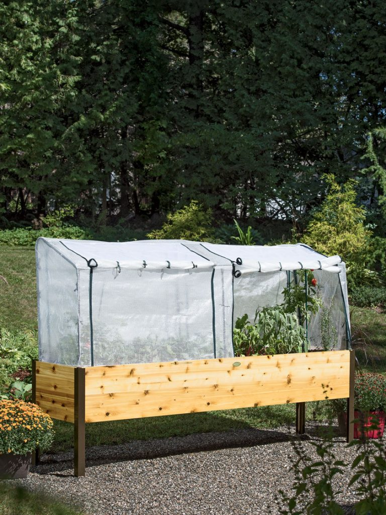 Protection Frame & Covers, 2' x 8' - Gardener's Supply