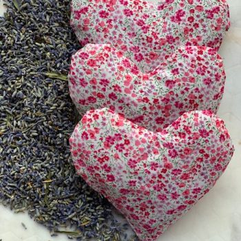 Lavender sachets are an ideal gift for Valentines - National Garden Bureau