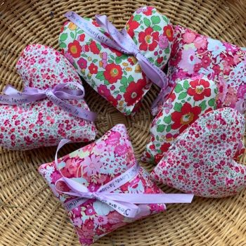 Lavender Sachets are easy to make for Valentines or anytime - National Garden Bureau