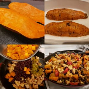 Mexican Chicken, Sweet Potato and Black Bean Skillet recipe - National Garden Bureau