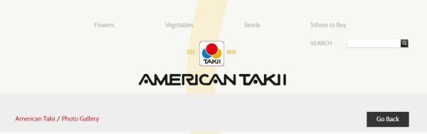 American Takii website