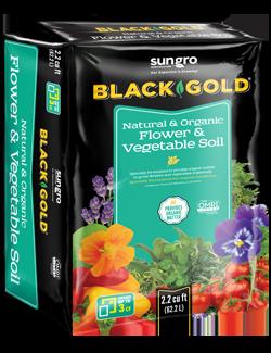 Black Gold® Natural & Organic Flower & Vegetable Soil
