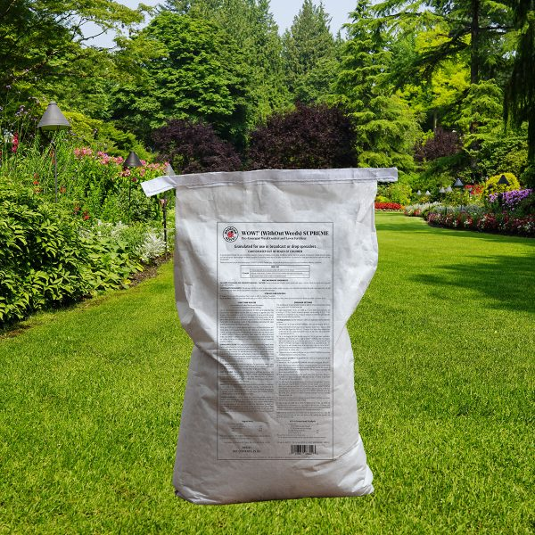 WOW!® Supreme Pre-Emergent Weed Killer and Lawn Fertilizer