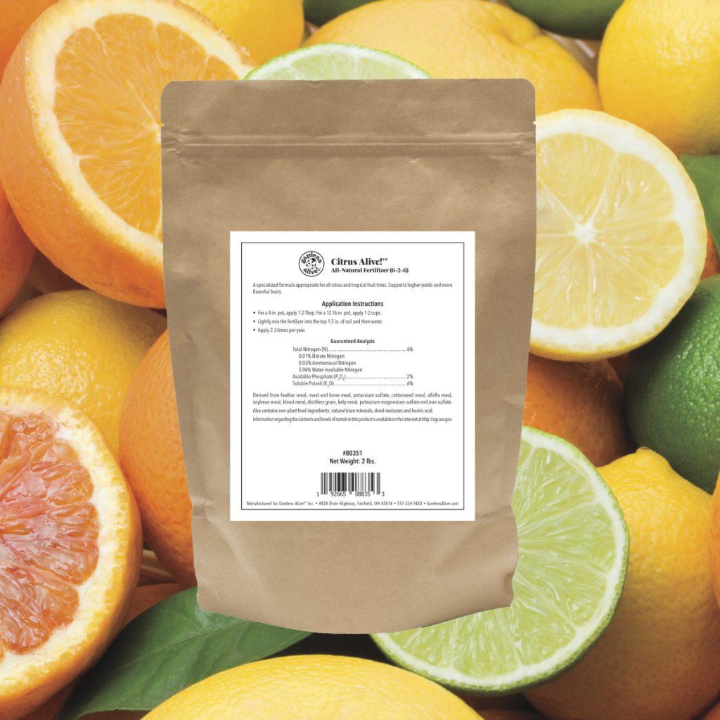 Citrus Alive!® Citrus Fertilizer - National Garden Bureau