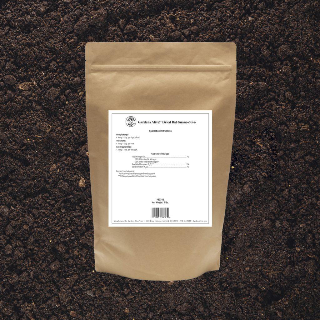 Gardens Alive!® Dried Bat Guano - National Garden Bureau